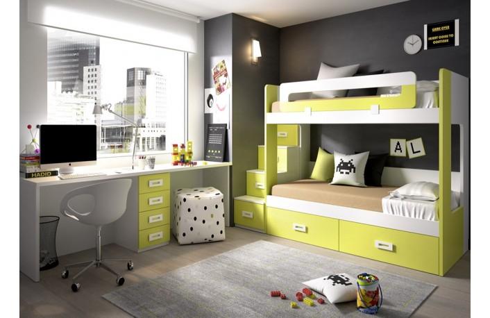 El top 5 en camas tipo tren - Habitaciones juveniles tren ...