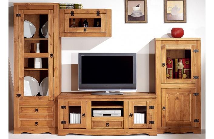 Los mejores estilos decorativos para el sal nblog de for Muebles salon madera maciza