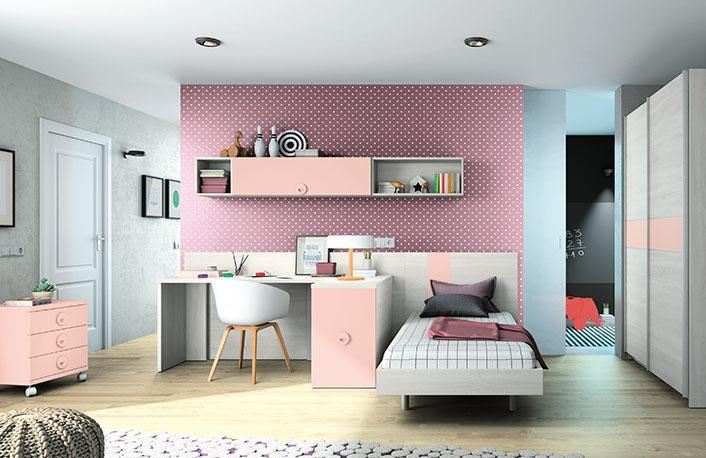 El top 5 en dormitorios juveniles para chicas for Ideas para decorar dormitorio juvenil