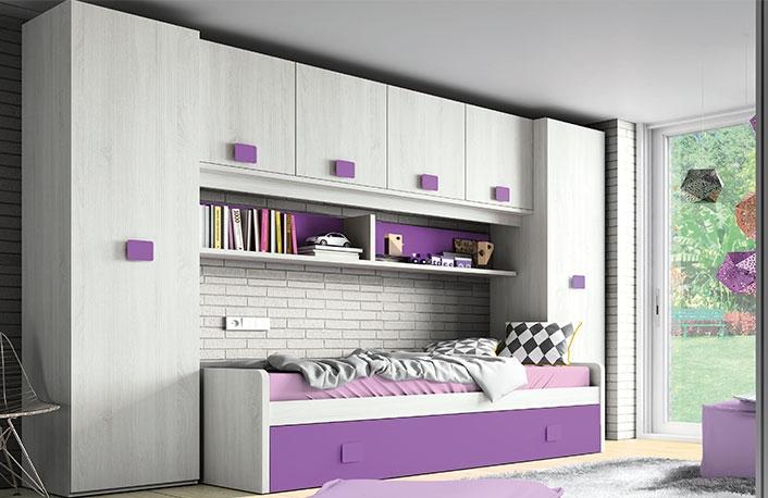 cuidado en los detalles al decorar un dormitorio juvenil