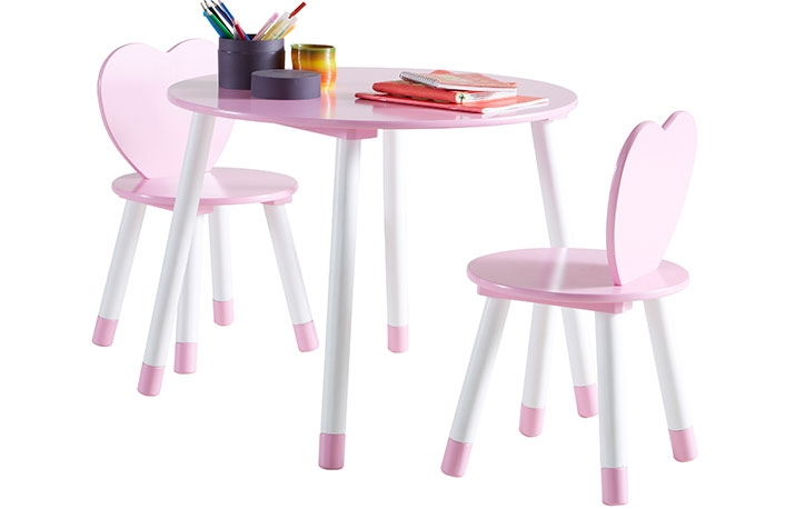 Conjuntos de mesas y sillas para habitaciones infantiles for Sillas para habitaciones
