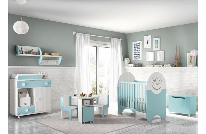 Decorar habitaciones infantiles y juveniles en azul
