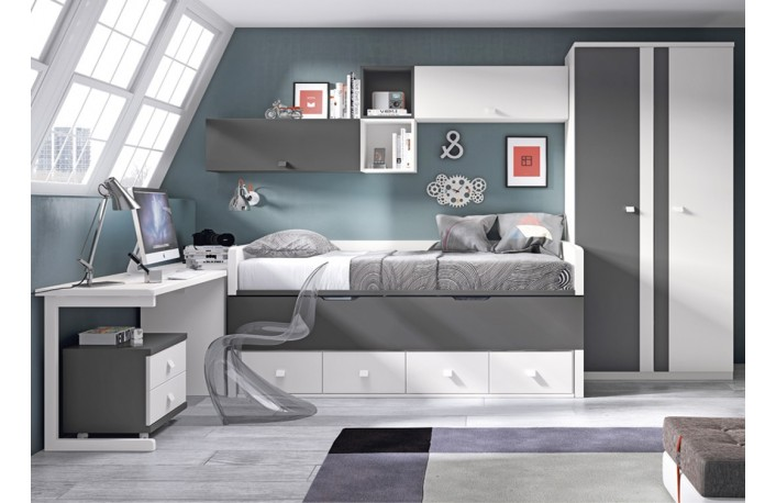 Ventajas de decorar tu casa en gris - Colores dormitorio juvenil ...