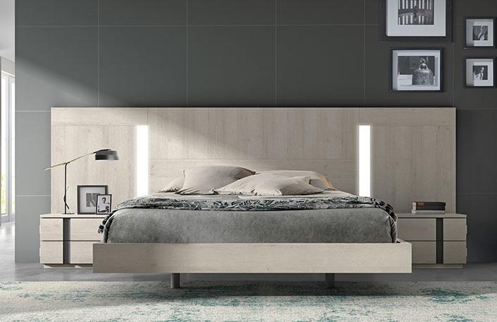 El color gris en la decoraci n de dormitorios for Muebles modernos en sevilla