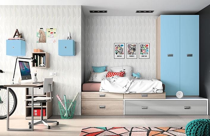 Top 5 en dormitorios juveniles para chicos for Decoracion dormitorios chicos