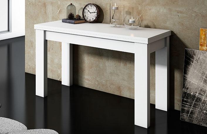 Mesas de comedor consola o extensible - Mesas de comedor pequenas y extensibles ...