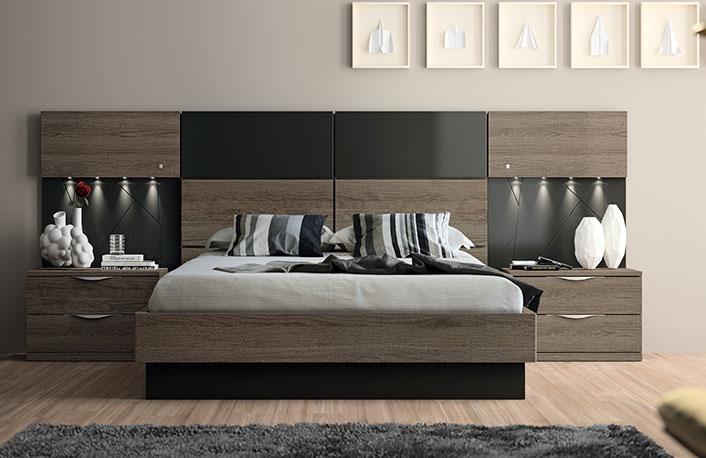 una buena alternativa es el dormitorio de matrimonio que puedes ver en la siguiente imagen tambin disponible en otros colores neutros blanco roble