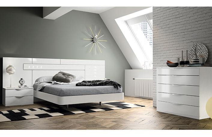 Tendencias en decoraci n 2015 - Dormitorios blancos modernos ...