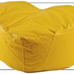 Puff corazon amoldable amarillo