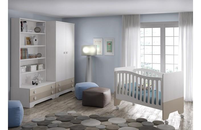 Pintar habitacion bebe excellent color pintar habitacion for Dormitorio infantil bosque