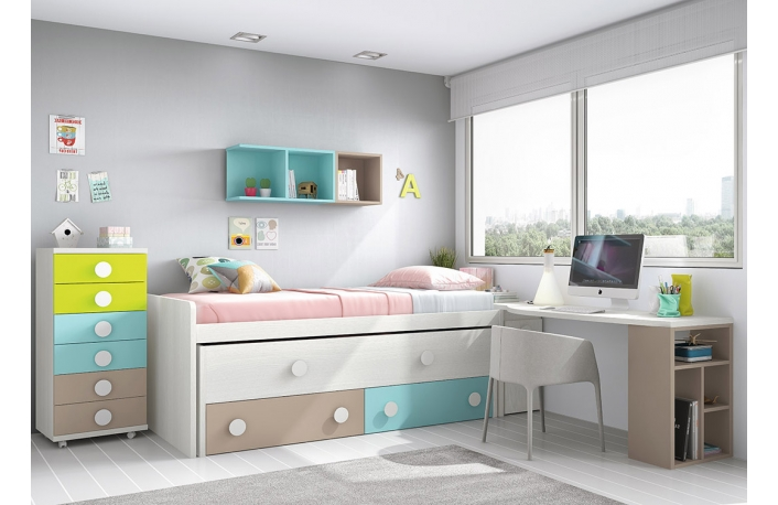 Los mejores colores para decorar el dormitorio for Los mejores dormitorios juveniles