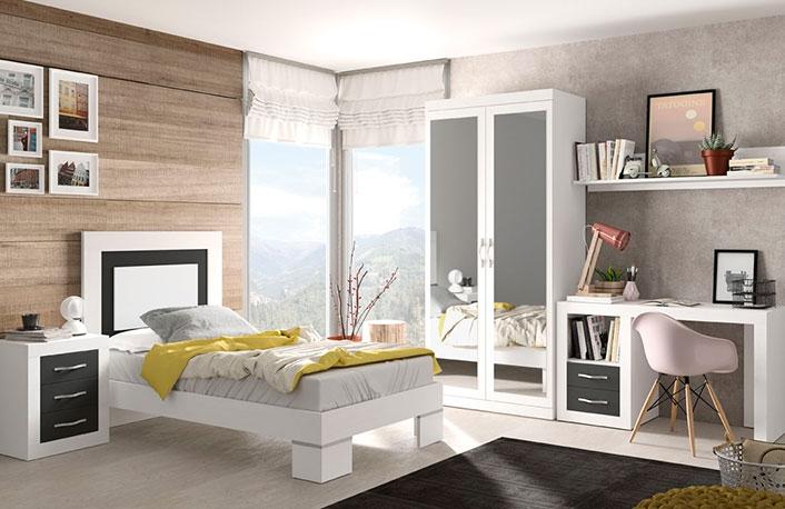 Ideas para decorar habitaciones juveniles para chicasblog for Dormitorio cama 105