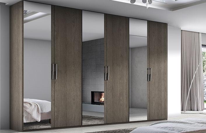 Top 5 en armarios con puertas batientesblog de decoraci n - Espejos en dormitorios ...