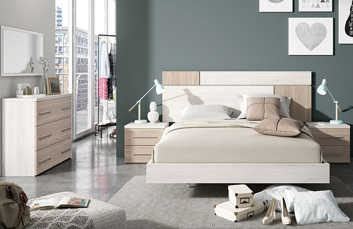 Muebles imprescindibles para una habitaci n de invitados for Habitacion matrimonio estilo nordico