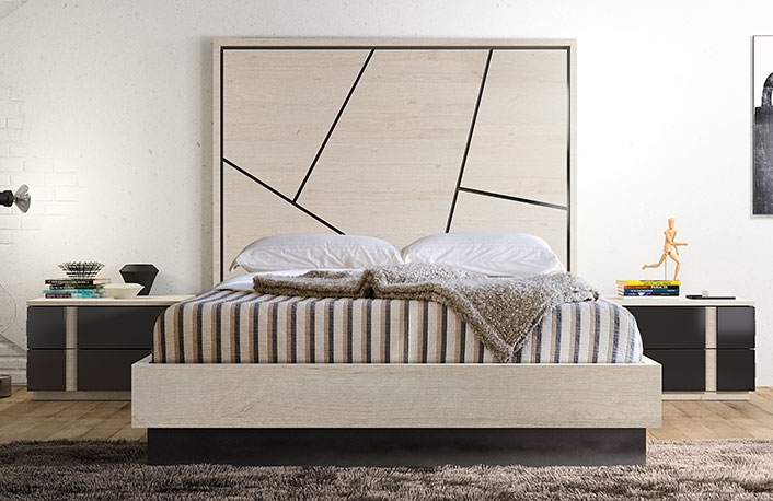 puedes ver un ejemplo de dormitorio de matrimonio nrdico en la siguiente imagen por supuesto tambin podrs optar por esta combinacin para ambientes