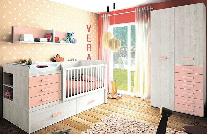 Habitaciones de beb en rosablog de decoraci n de muebles - Muebles en dos hermanas ...