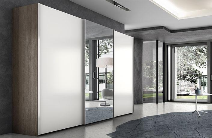 Armarios con espejos perfectos para dormitorios for Armario con espejo
