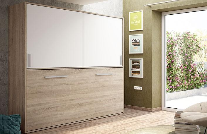 Top 5 en camas abatiblesblog de decoraci n de muebles boom - Mueble salon con cama abatible ...