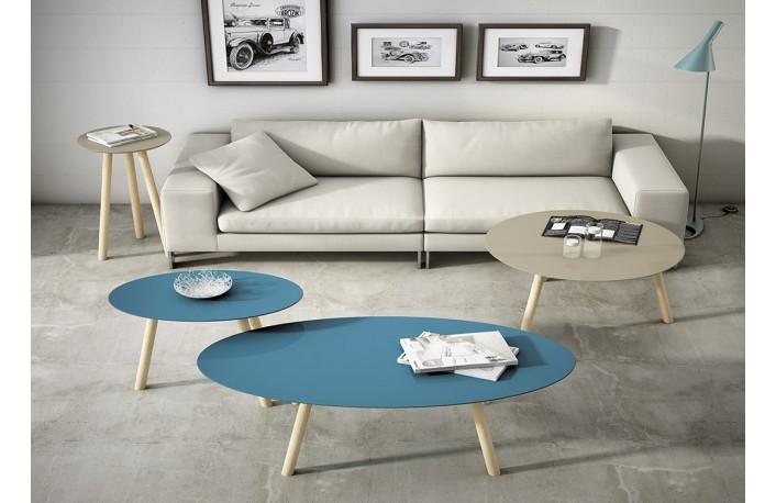Mesas de centro redondas u ovaladasblog de decoraci n de - Mesa de centro de salon ...