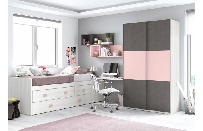 Camas nido muebles ideales para habitaciones infantiles y - Habitacion infantil cama nido ...