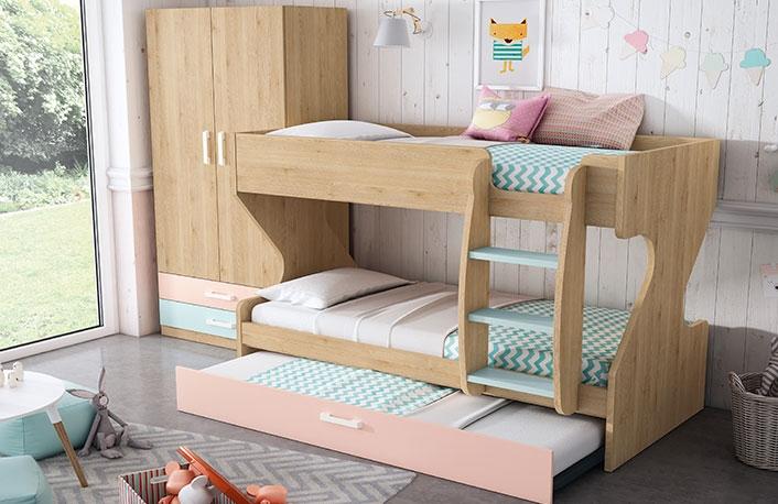 Consejos para escoger literas for Literas de tres camas