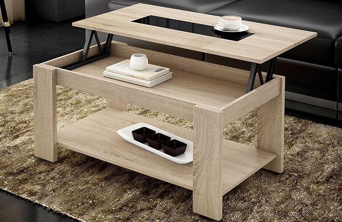 Ventajas de las mesas de centro elevables - Mesas salon elevables ...