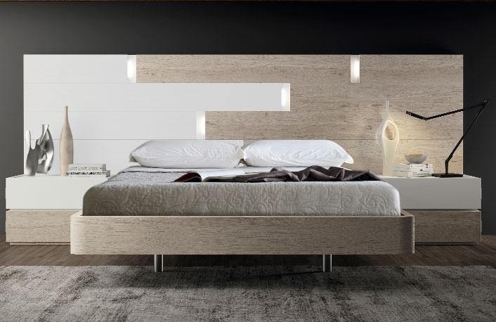 Cabeceros de cama con luces integradas - Cabeceros con luz ...