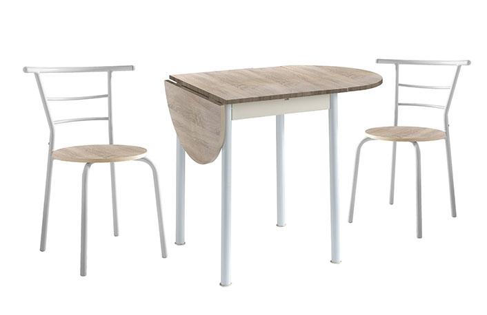 Cinco mesas ideales para cocinas pequeñas |