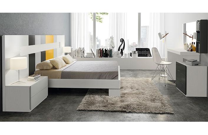 Consejos para decorar dormitorios de matrimonio grandes - Tocador moderno dormitorio ...