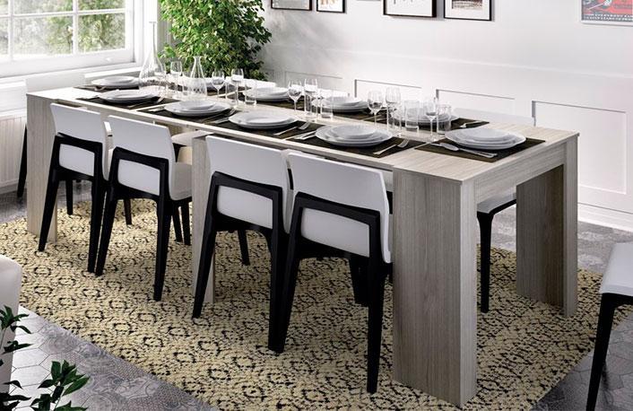6 mesas ideales para comedores peque os - Mesas para comedores pequenos ...