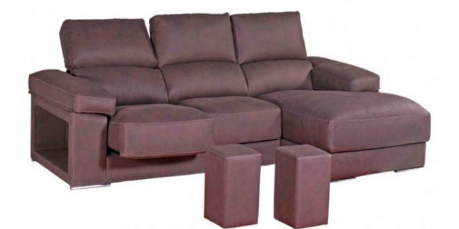 Sofás con puffs escondidos, una opción ideal para salones pequeños