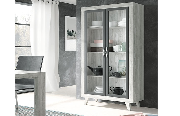 Top 5 en vitrinasblog de decoraci n de muebles boom for Salones con vitrinas