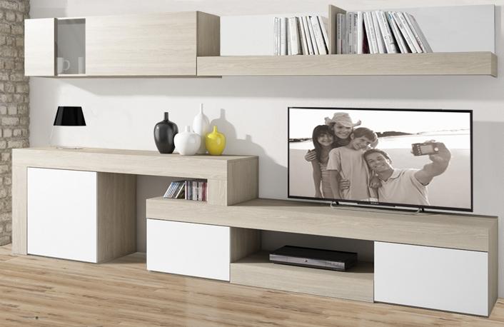 Los estilos decorativos que m s gustan a los espa olesblog - Muebles de salon lacados en blanco ...