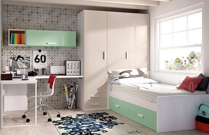 Cinco dormitorios juveniles muy modernosblog de decoraci n - Como pintar dormitorio juvenil ...