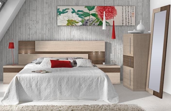 dormitorio con mesitas a juego - Decoracion De Dormitorios De Matrimonio
