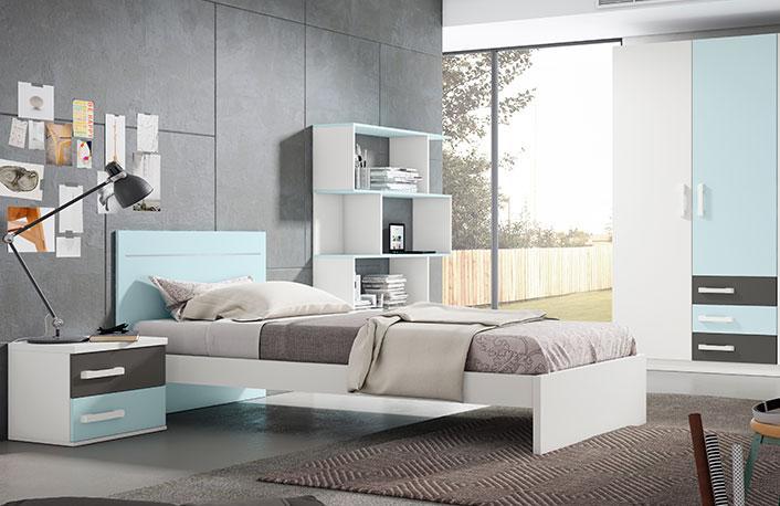 Ideas para renovar un dormitorio juvenilblog de decoraci n - Dormitorio juvenil nino ...