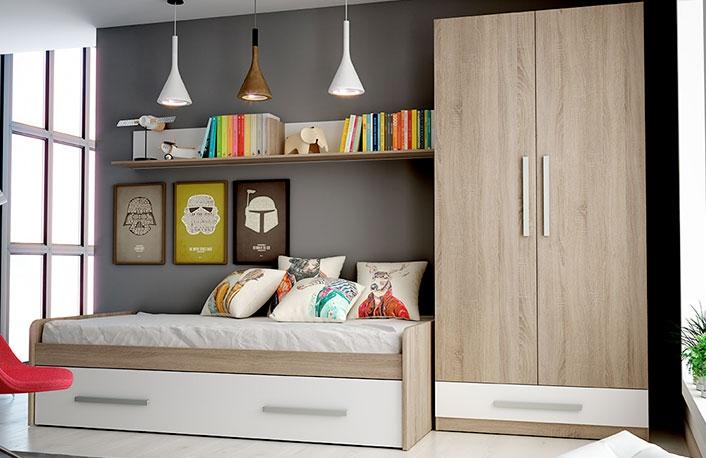 Ideas para renovar un dormitorio juvenilblog de decoraci n for Cama nido precios baratos