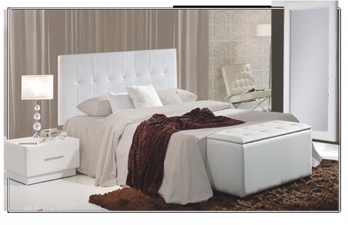 5 cabeceros tapizados de calidadblog de decoraci n de muebles boom - Cabeceros de cama tapizados en piel ...