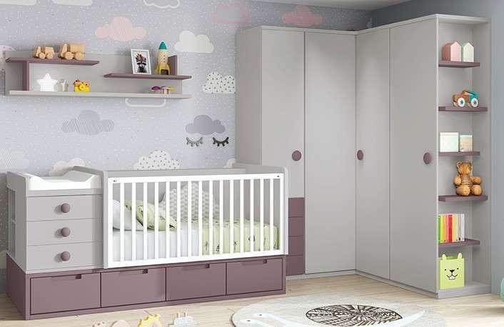 Ideas para decorar habitaciones infantiles pequeñas